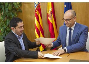 Signat el conveni que dóna llum verda al Campus d'Alcoi de la Universitat d'Alacant