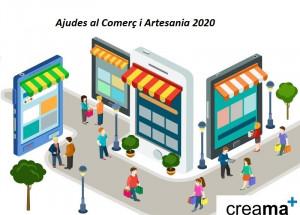 AFIC CREAMA Informa de las ayudas a las empresas de comercio y artesanía para el 2020.