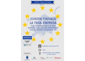 JORNADA: EUROPA FINANÇA LA TEUA EMPRESA-CICLE ACTIVA´T NEGOCI EN MARXA