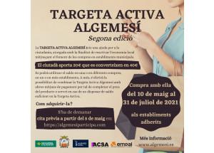 TARGETA ACTIVA ALGEMESI - SEGONA EDICIÓ