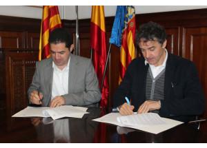 Ayuntamiento y Generalitat firman el convenio que da luz verde al CdT de Interior en Alcoy