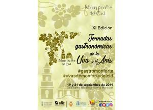 PRESENTACIÓN XI JORNADAS GASTRONÓMICAS DE LA UVA Y EL ANÍS DE MONFORTE DEL CID