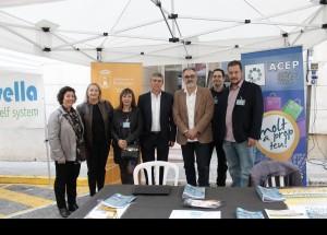 El conseller Rafa Climent no quiso perderse la Fiesta del Comercio de Pedreugeromerç de Pedreguer