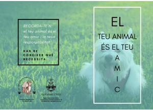 El ayuntamiento lanza una campaña informativa sobre el cuidado de las mascotas