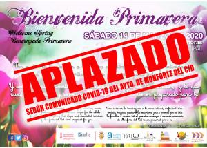 APLAZAMIENTO CAMPAÑA COMERCIAL BIENVENIDA PRIMAVERA