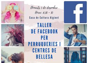 TALLER FACEBOOK PARA PELUQUERIAS Y CENTROS DE ESTÈTICA