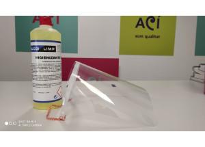 L'ajuntament d'Alcoi repartirà pantalles de protecció individual i desinfectant per als comerços de la ciutat