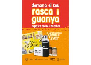 """Campanya """"Rasca i guanya"""" per a reactivar el comerç local a Vila-real"""