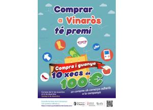 """La concejalía de Comercio lanza la campaña """"Comprar en Vinaròs tiene premio"""""""