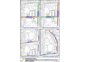 Obras para mejorar los registros y tapas del alcantarillado de las calles Torre de les Maçanes, Sor Elena Picurelli, La Cordeta y Casa Blanca
