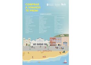 L'Ajuntament de Vinaròs inicia la campanya Comprar a Vinaròs té premi per a ajudar a reactivar el sector comercial