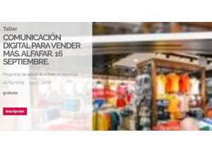 Tornen les formacions per a comerciants amb l'estratègia digital i la venda en internet