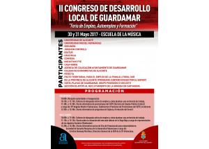 PRESENTACIÓN RUEDA DE PRENSA II CONGRESO DE DESARROLLO LOCAL