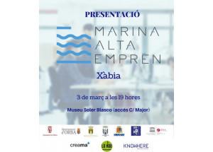 """Xàbia presenta este viernes la iniciativa """"Marina Alta Emprén"""""""