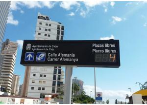 Se reanuda el aparcamiento regulado en las principales calles de Calp