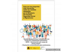 Guía con las preguntas más frecuentes sobre las medidas adoptadas por el Ministerio de Inclusión, Seguridad Social y Migraciones.