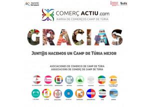 COMERÇ ACTIU MARCA IMPULSADA PELS COMERCIANTS DE CAMP DE TÚRIA