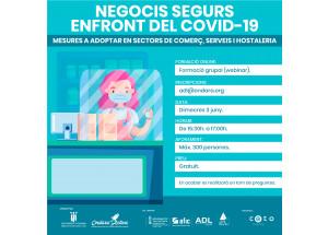 NEGOCIS SEGURS ENFRONT DEL COVID 19