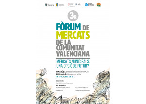 3r Fòrum de Mercats de la Comunitat Valenciana. 16 de octubre en Vinaròs-Benicarló