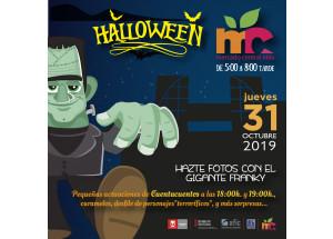 Fiesta de Halloween en el Mercado Central de Elda
