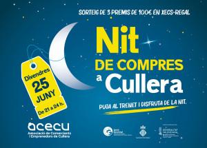 Los comercios de Cullera celebrarán la Nit de Compres con ofertas y actividades