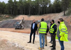 En marcha la segunda fase de las obras del cunetón del Polígono Santiago Payá