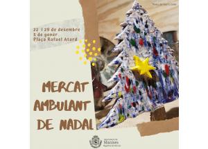 MANISES. MERCAT DE AMBULANT DE NADAL