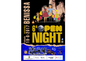 BENISSA CELEBRA LA 6ª OPEN NIGHT
