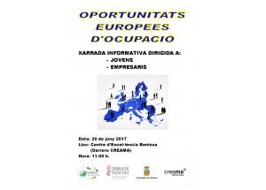 Jornada informativa sobre el projecte europeu EURODISEA