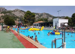 Més de 25.000 persones fan ús de les piscines municipals durant el mes de juliol