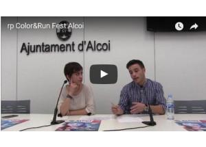 Es presenta el Color&Run Fest Alcoi