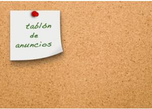 TABLÓN DE ANUNCIOS COMERCIAL