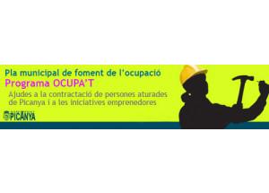 CONVOCAÒRIA DEL PLA D\'OCUPACIÓ LOCAL 2018 DE PICANYA