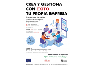 "Programa ""GESTIONA CON ÉXITO TU PROPIA EMPRESA""."