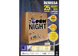 7ª OPEN NIGHT A BENISSA