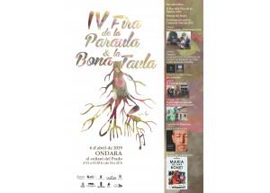 ONDARA. IV FIRA DE LA PARAULA I LA BONA TAULA