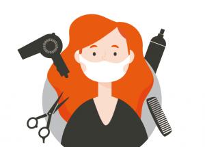 Guía de recomendaciones higiénico-sanitarias para salones de peluquería.