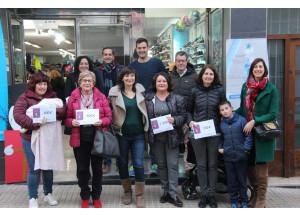 Mariola Carbó gana los 1000€ de la campaña de los comerciantes de Benissa.