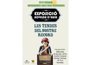 EXPOSICIÓN LES TENDES DEL NOSTRE RECORD