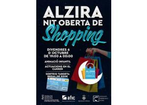 NIT OBERTA DE SHOPPING EN ALZIRA