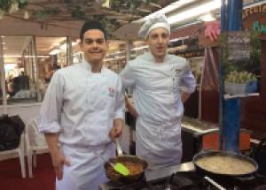 Master sobre cuina de la carxofa al Mercat Central de Benicarló