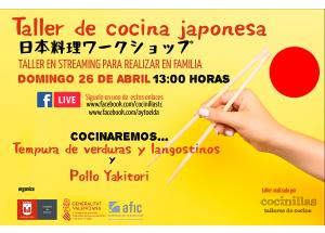 EL AYUNTAMIENTO DE ELDA ORGANIZA UN TALLER DE COMIDA JAPONESA