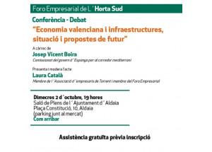 Economia valenciana, infraestructures, situació i propostes de futur