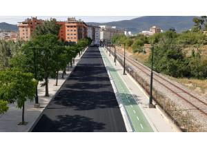 Segueixen a bon ritme les obres de l'eix per a ciclistes i per als vianants entre Cocentaina i Batoi