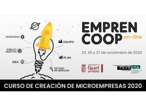 CURS DE CREACIÓ DE MICROEMPRESES 2020