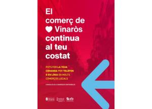 """L'Ajuntament engega la campanya """"El Comerç de Vinaròs continua al teu costat"""""""