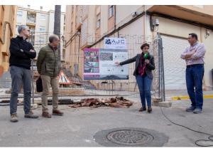 El Ayuntamiento empieza a ejecutar el plan de embellecimiento #OndaBonica con la actuación en las escaleras de La Morería