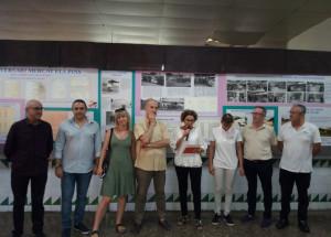 Presentación de la exposición de fotografía conmemorativa del 50 Aniversario del Mercado Los Pinos