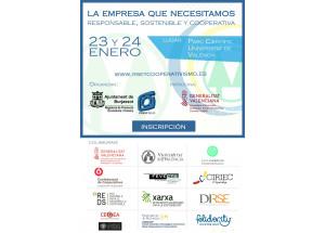 Burjassot organitza el Congrés Nacional de Responsabilitat Social i Cooperativisme