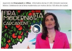 FIRA MODERNISTA EN TVE 1